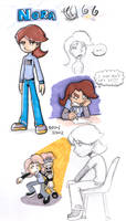 Nora sketches