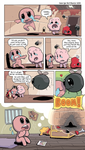 Binding of Isaac: Comic Tribute
