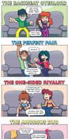 DORKLY: The 6 Types of Gamer Couples