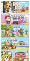Animal Crossing: Mayor Responsibilities by GeorgeRottkamp