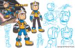 Marlon Character Sketches