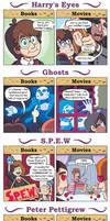 DORKLY: Harry Potter Books vs. Movies