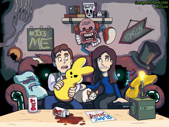 GTLive Scary Games Friday!