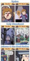 DORKLY: Game of Thrones Books vs. Show