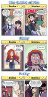 DORKLY: Harry Potter Books vs. Movies 2 by GeorgeRottkamp