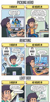 DORKLY: Overwatch 1 Hour vs. 40 Hours by GeorgeRottkamp