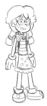 Lydie Character Sketch