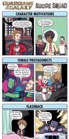 DORKLY: Guardians of the Galaxy vs. Suicide Squad