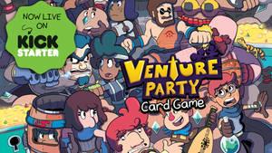 VENTURE PARTY: Now Live On Kickstarter!
