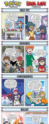 DORKLY: Pokemon Childhood Vs. Real-Life Childhood by GeorgeRottkamp