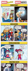 DORKLY: Marvel Comics VS. Marvel Movies by GeorgeRottkamp
