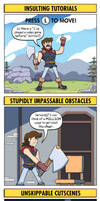 DORKLY: Video Game Tropes We're Absolutely Sick Of