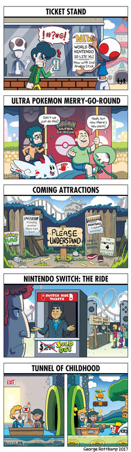 DORKLY: What a Nintendo Theme Park Would Look Like