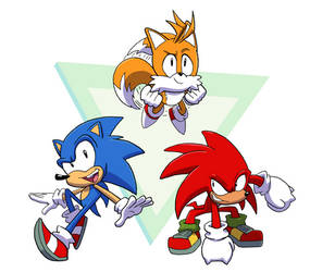 Team Sonic is Ready to GO!