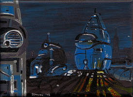 Robotropolis 2 by Chris Straube by Metal-Skotty