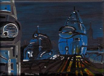 Robotropolis 2 by Chris Straube