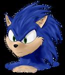 Sonic Experimental #1 by Metal-Skotty