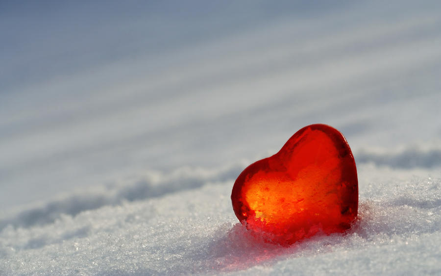 Image result for heart on ice