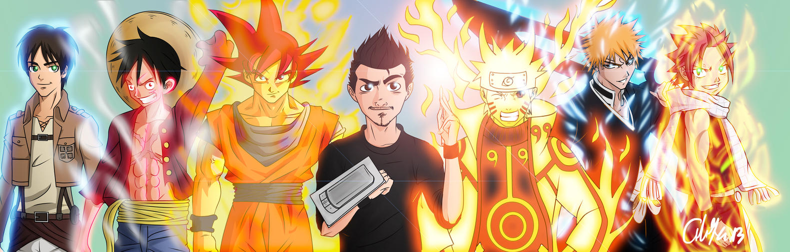 Me and my Heroes by francesco8657