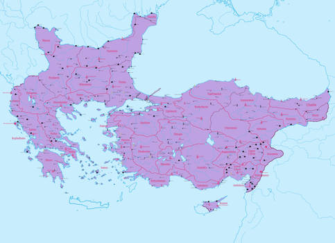 WIP Alternate Byzantine Empire