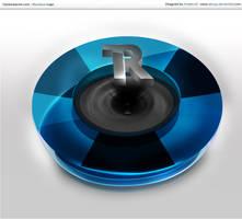 3D TrackeReactor Logo