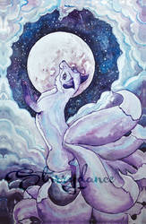 Kitsune Lune by Starrydance