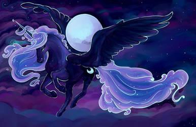 Princess Luna :  Embrace the Moon
