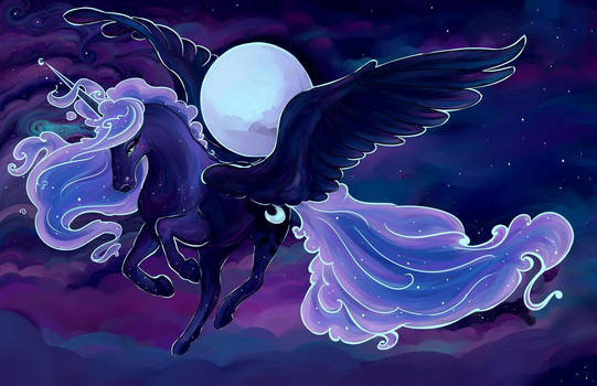 Princess Luna :  Embrace the Moon