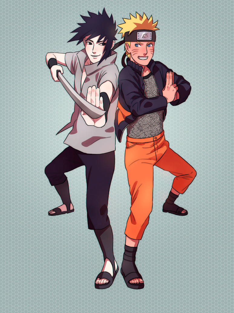 CM: Sasuke + Naruto by DakCar