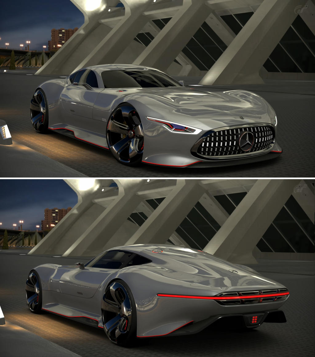 Mercedes benz amg vision gran turismo by gt6 garage on for Mercedes benz amg vision
