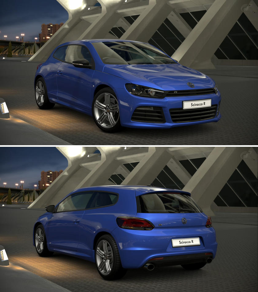 Volkswagen scirocco r 39 10 by gt6 garage on deviantart for Garage volkswagen paris 11
