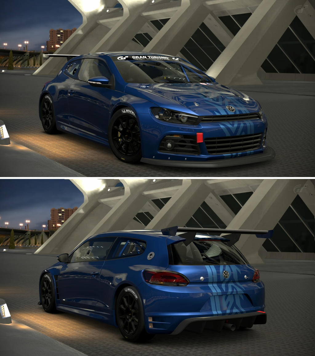 Volkswagen scirocco gt24 15th anniversary editi by gt6 for Garage volkswagen paris 15
