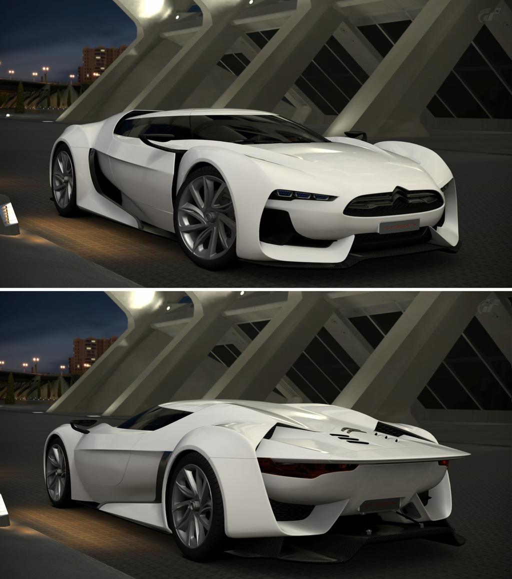 Citroen GT By Citroen Road Car By GT6-Garage On DeviantArt