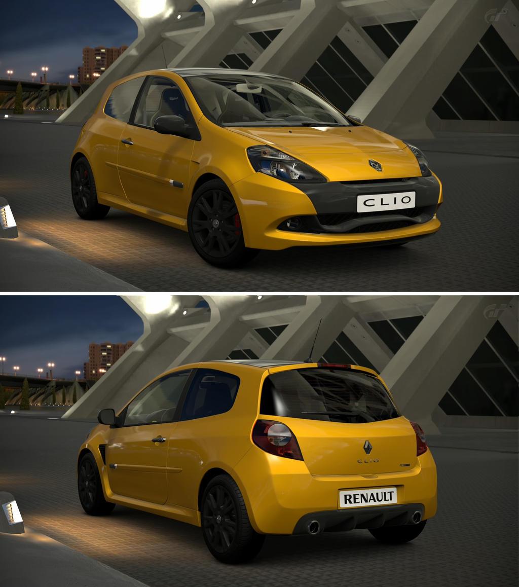Renault Sport: Renault Sport Clio R.S. '11 By GT6-Garage On DeviantArt
