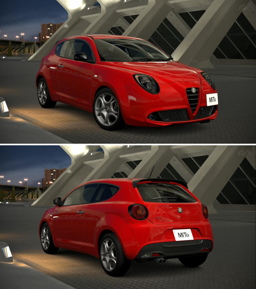 alfa romeo mito 1 4 t sport 39 09 by gt6 garage on deviantart. Black Bedroom Furniture Sets. Home Design Ideas