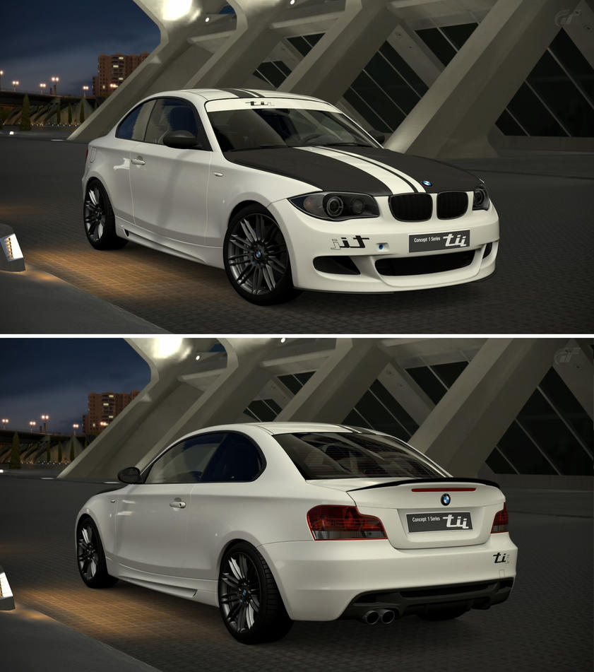 BMW Concept 1 Series tii \'07 by GT6-Garage on DeviantArt