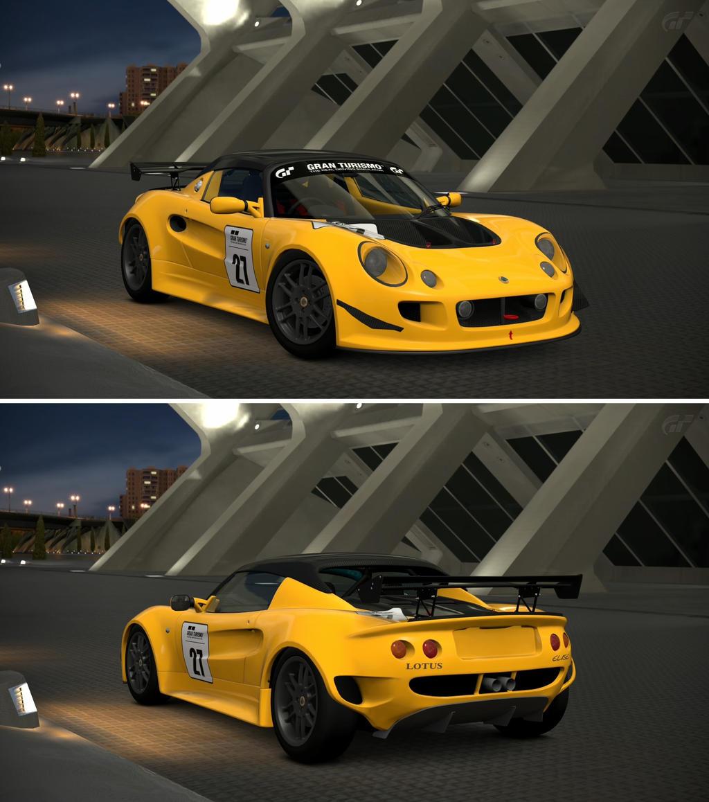 Lotus elise race car 39 96 by gt6 garage on deviantart for Garage lotus