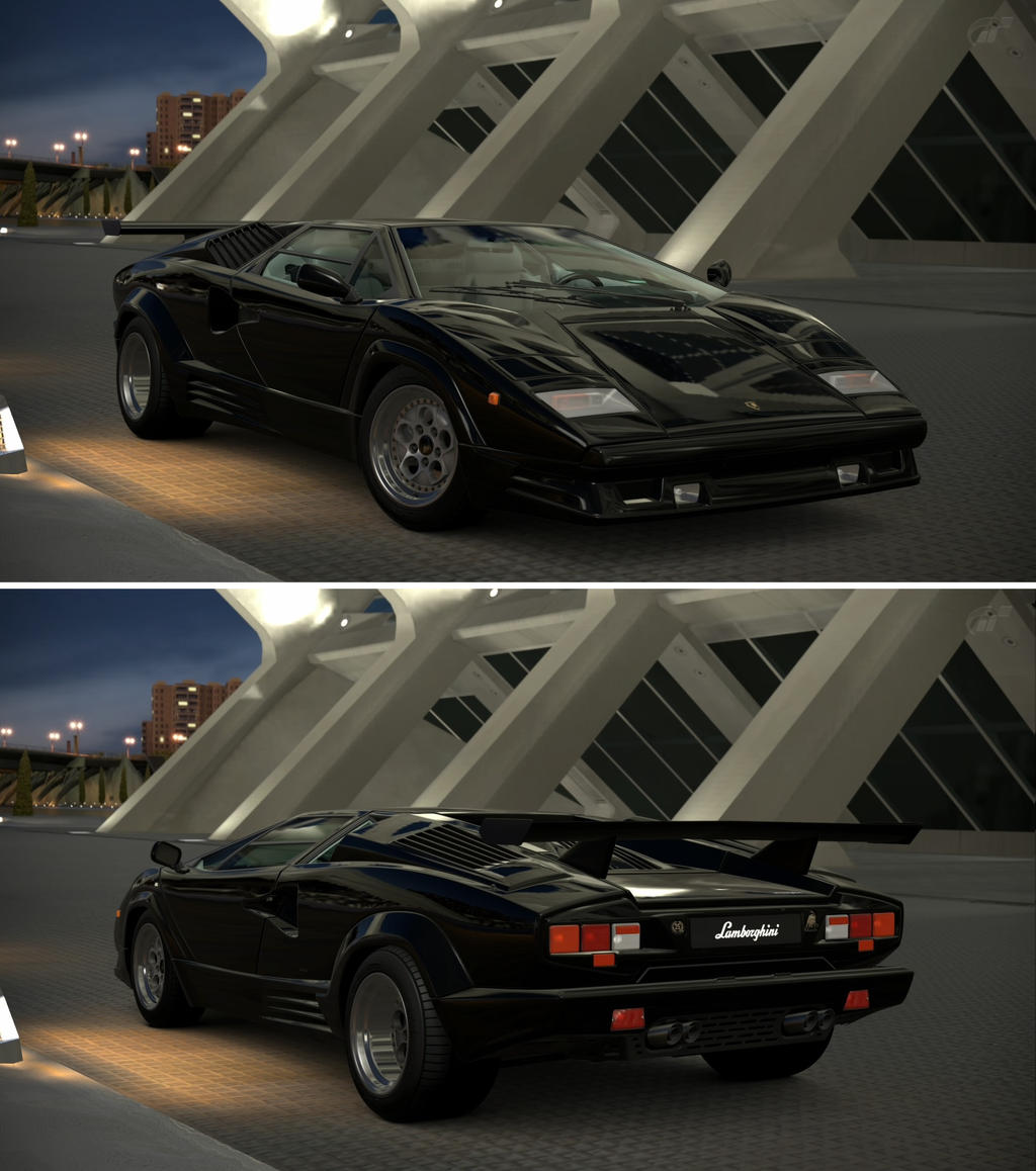 lamborghini countach 25th anniversary 39 88 by gt6 garage on deviantart. Black Bedroom Furniture Sets. Home Design Ideas