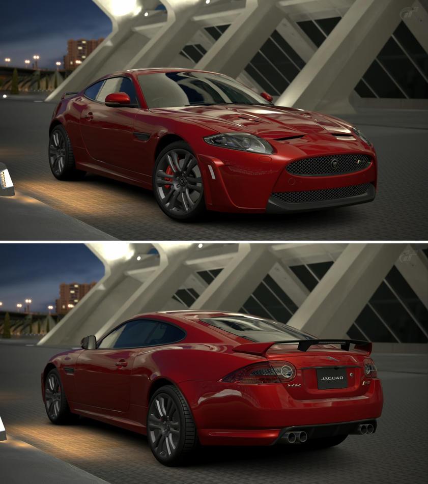 Jaguar XKR-S '11 By GT6-Garage On DeviantArt