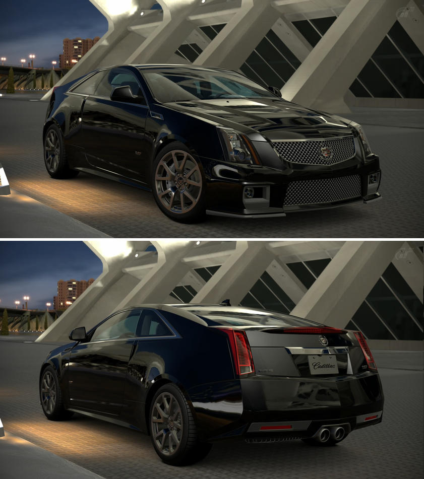Cadillac V Series For Sale: Cadillac CTS-V Coupe '11 By GT6-Garage On DeviantArt