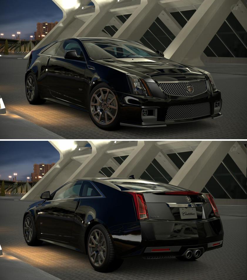 2013 Cadillac Cts V Wallpaper: Cadillac CTS-V Coupe '11 By GT6-Garage On DeviantArt