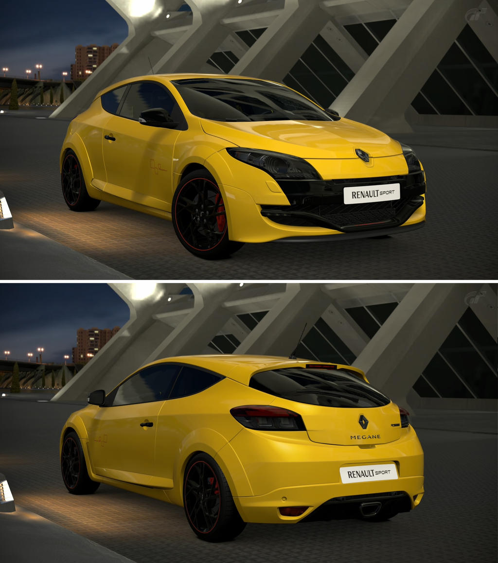 Megane 2 Kit Renault Sport Cup: Renault Sport Megane R.S. Trophy '11 By GT6-Garage On