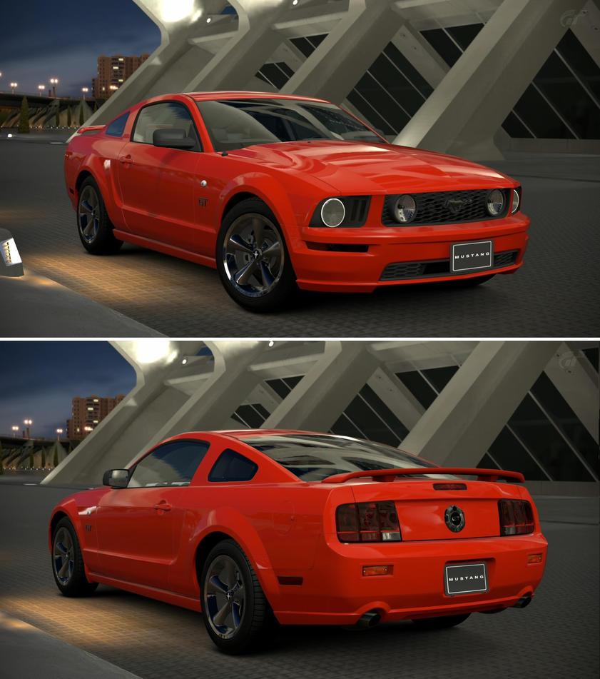 ford mustang v8 gt coupe premium 39 07 by gt6 garage on. Black Bedroom Furniture Sets. Home Design Ideas