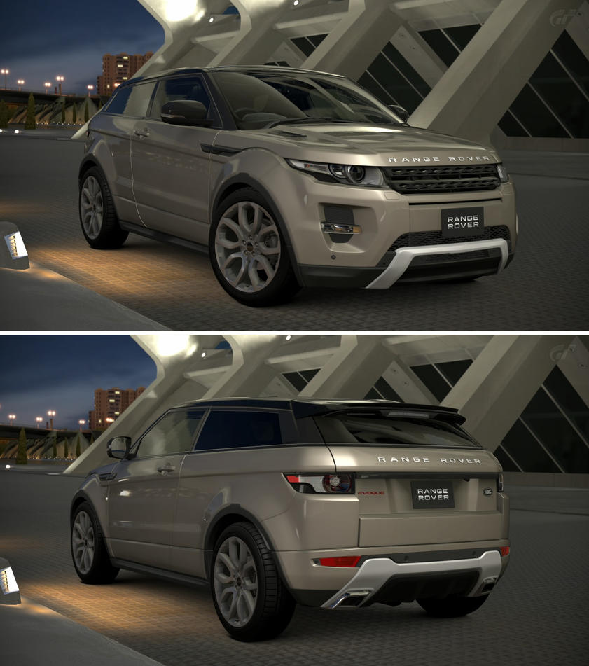 land rover range rover evoque coupe dynamic 39 13 by gt6 garage on deviantart. Black Bedroom Furniture Sets. Home Design Ideas