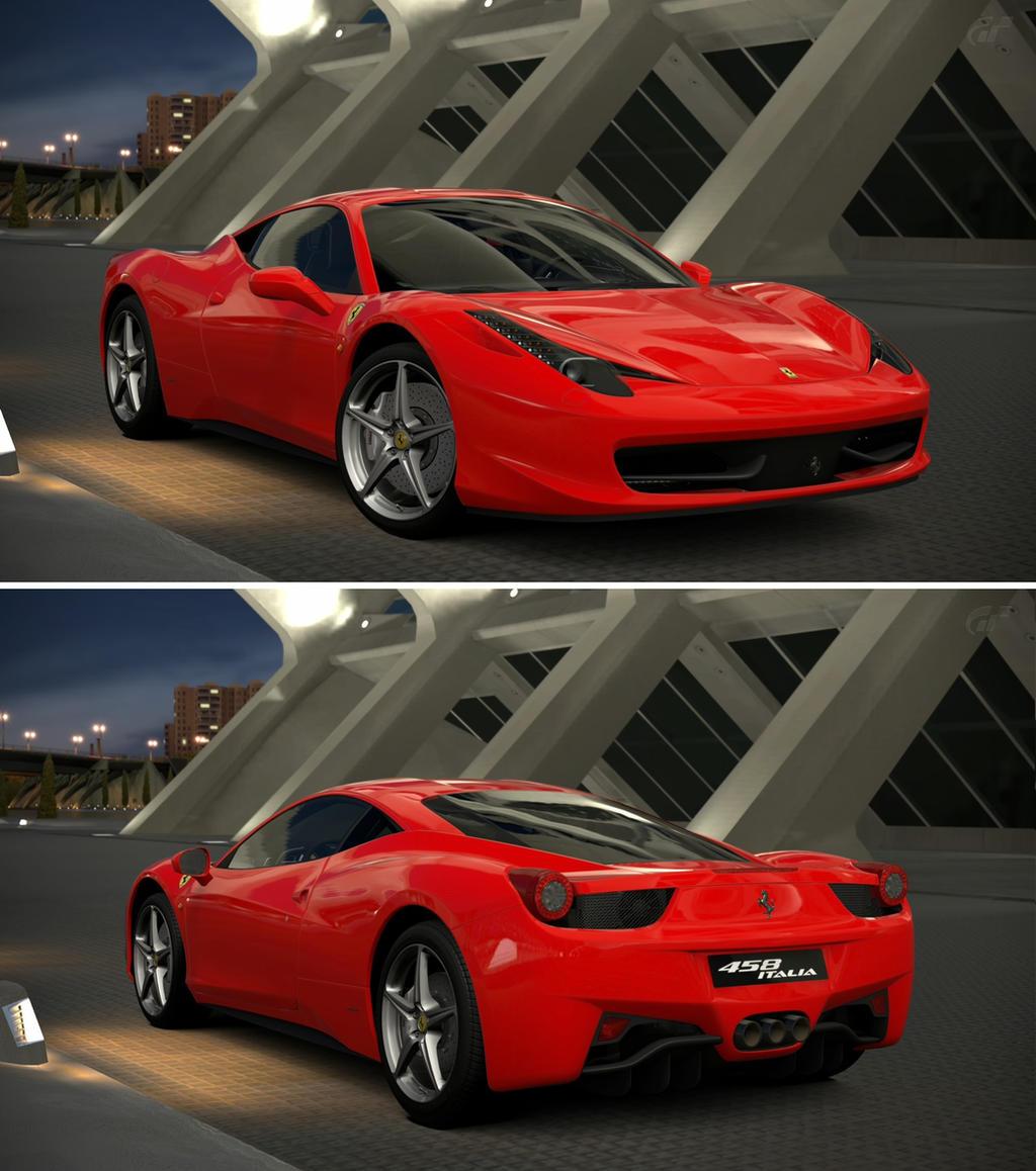 Ferrari Italy: Ferrari 458 Italia '09 By GT6-Garage On DeviantArt