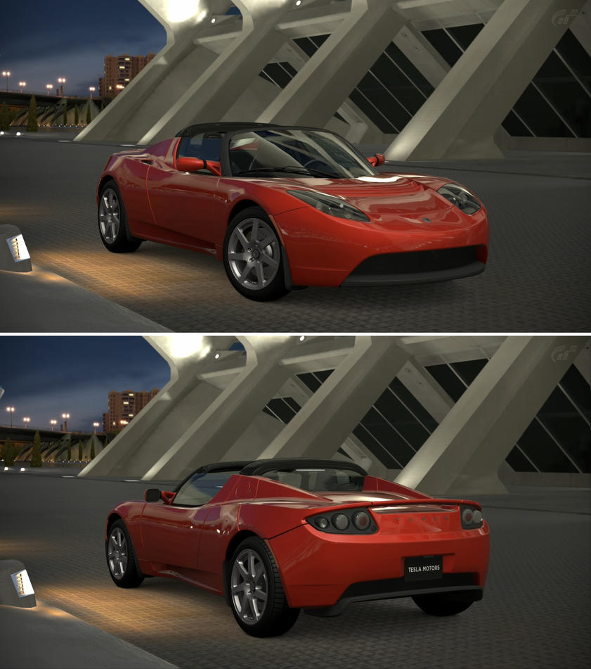 Wallpaper Tesla Roadster 2020 Hd 4k Automotive Cars: Tesla Motors Tesla Roadster '08 By GT6-Garage On DeviantArt