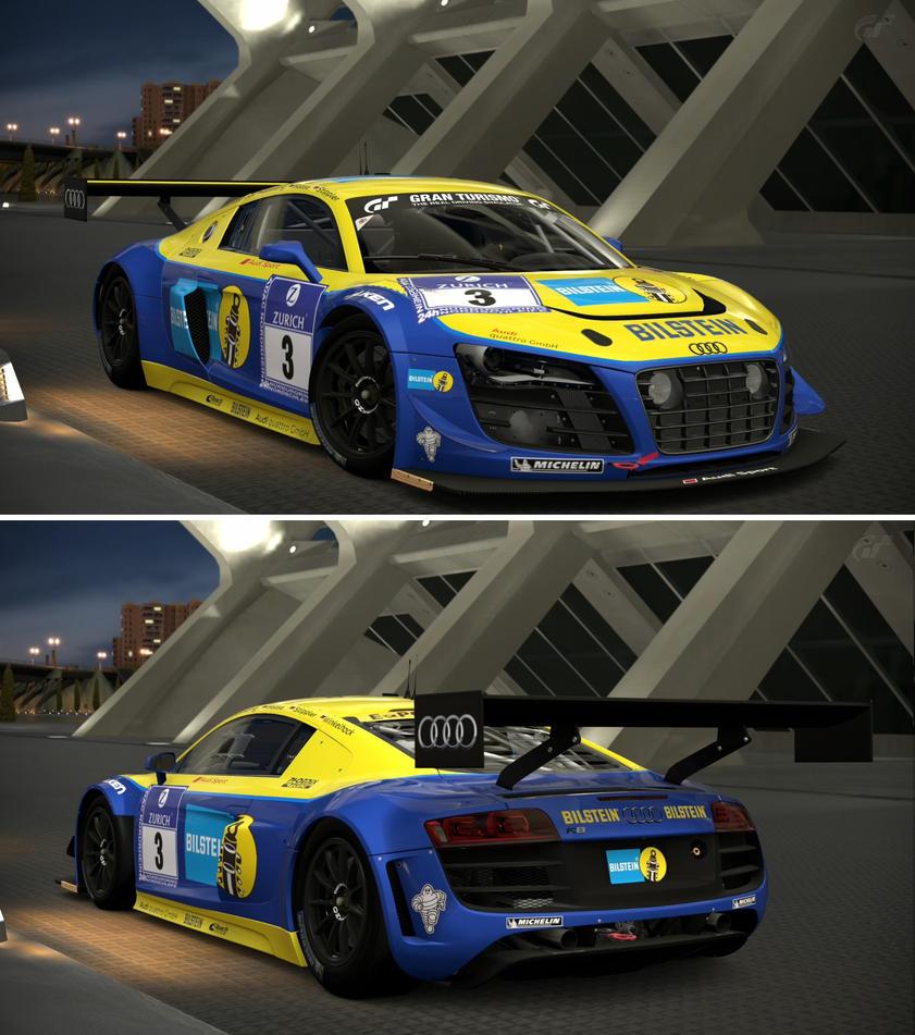 Audi R8 LMS Ultra (Audi Sport Team Phoenix) '12 By GT6