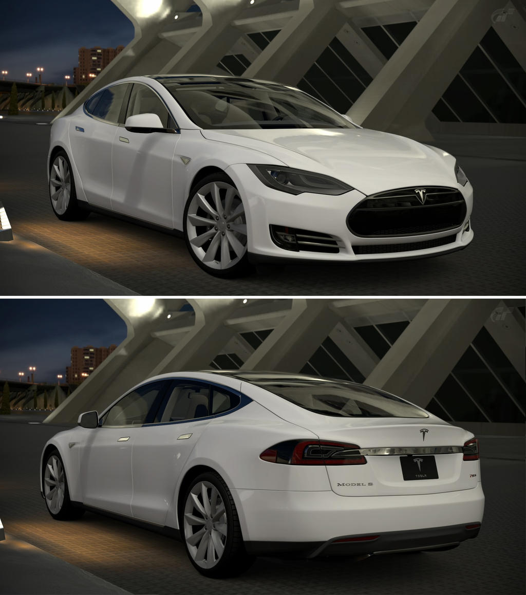 Tesla Motors Model S Signature Performance '12 By GT6