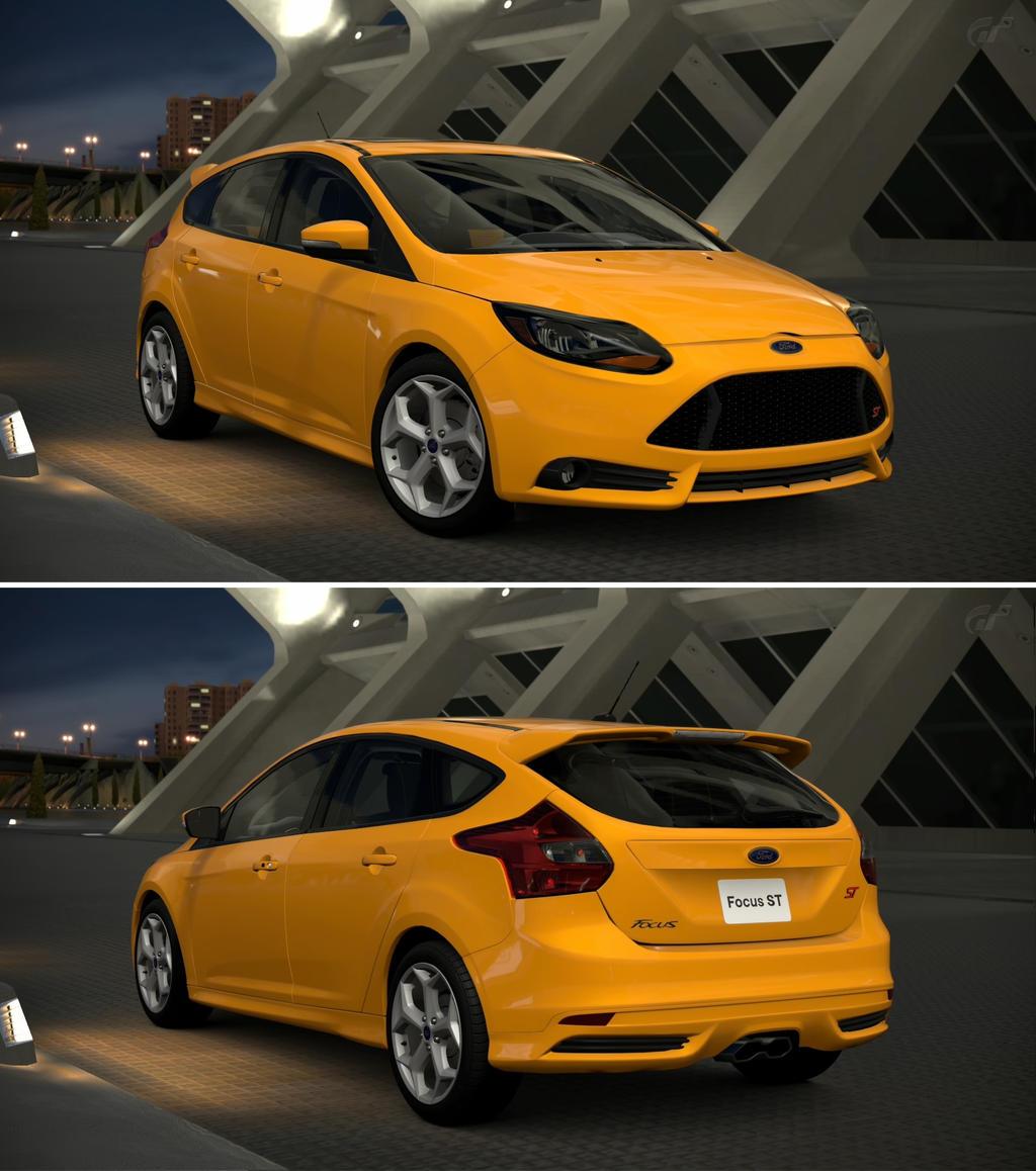 ford focus st 13 by gt6 garage