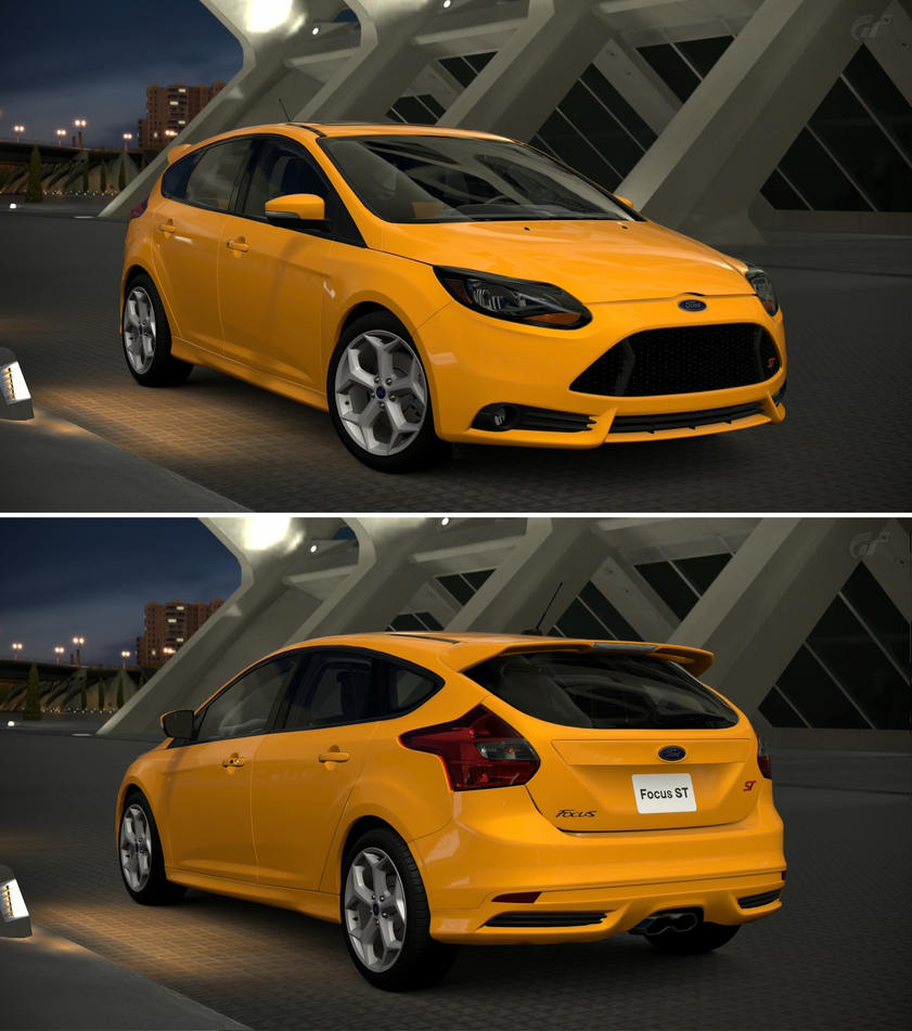 Ford focus st 39 13 by gt6 garage on deviantart for Garage ford st maximin